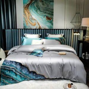 Bedding Set Duvet Cover Luxury 4/6Pcs Bedding Quilt Cover Bed Sheet Pillowcase