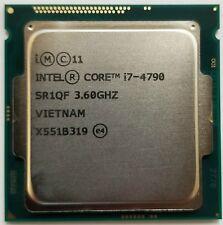 INTEL CORE i7-4790 SR1QF 3.60GHZ 8MB CPU PROCESSOR TESTED WARRANTY
