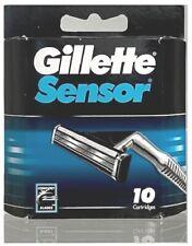 Gillette Sensor Razor Blade Refills - 10 Cartridges