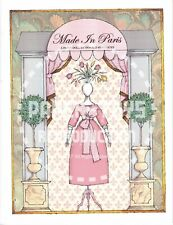 Reprint - Donald Hendricks Made In Paris Paper Doll - Reproduction
