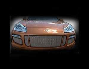 Porsche Cayenne Turbo Mesh Grille 5pc set 2007 2008 2009 2010 Grill