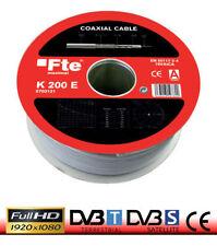 20mt CAVO ANTENNA TV SATELLITARE 6,8mm K200 FTE