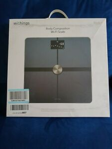 Withings Body+ Body Composition Smart Wi-Fi Scale with smartphone app - Black