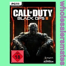 Call of Duty Black Ops III + Nuketown DLC - PC Steam Key CoD 12 BO 3 Uncut EU