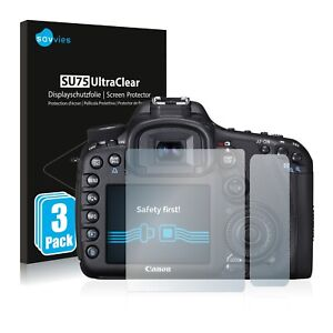 Screen Protector for Canon EOS 7D Protective Film Shield Ultra Clear Protection