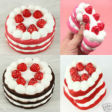 11Cm Jumbo Squishy Strawberry Cake Scented Super Slow Rising Kids Toy Cute Gift