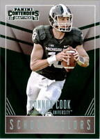 2016 Panini Contenders Draft Picks School Colors #3 Connor Cook Michigan State