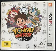 Yo-Kai Watch 3DS Game, Nintendo 3DS Game PAL format. Also compatible with 2DS