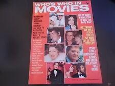 Mia Farrow, Lucille Ball, John Wayne - Who's Who In Movies Magazine 1974