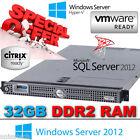 "DELL POWEREDGE 1950 III 2x 3.0GHz X5450 QUAD CORE 32GB DDR2 (2x 3.5"" 146GB SAS)"