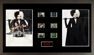 Cruella  6 cell film cell style display 16 x 8 FRAMED
