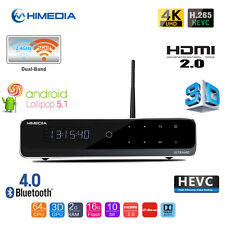HiMedia Q10 PRO 4K TV BOX Android 5.1 UHD Media Player Home Theater Movie Player