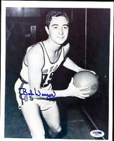 Bob Wanzer Autograph 8x10 Photo Signed Psa/dna