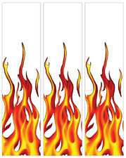 "15 - 4x1"" Reflective Flame Arrow Wraps"