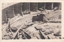 A3537) WW1, PADOVA, INTERNO DEL TEATRO VERDI COLPITO DA BOMBE TEDESCHE.