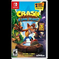 Crash Bandicoot N-Sane Trilogy Video Game (Nintendo Switch, 2018)