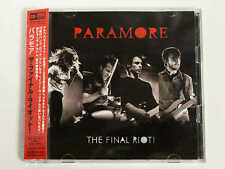 PARAMORE The Final Riot! WPZR-30314/5 JAPAN CD+DVD w/OBI 09565