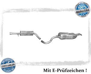 Auspuffanlage VW Bora 1.6 FSi  2.0  Auspuff Endtopf Mitteltopf