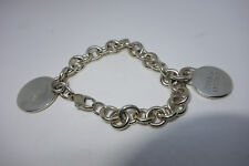 Return to Tiffany & Co. Sterling Bracelet & TENNIS ANYONE? Detachable Charm
