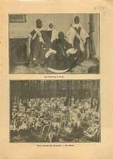 Touareg Costume Paris/Colonie de Vacances Sieste Chaise Longue 1916 ILLUSTRATION
