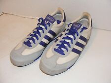 Adidas Dragon Walking Fitness Shoes Womens 9.5 White Gray Purple