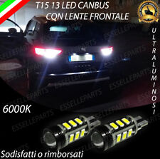 COPPIA LAMPADE RETROMARCIA LED A 13 LED SEAT ATECA CANBUS 6000K LENTE FRONTALE