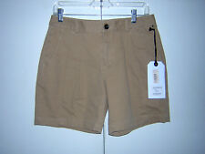 ROGAN KHAKI SHORTS NWT $192 SIZE 27 NEW 2 100% COTTON