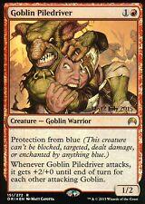 Goblin piledriver foil   nm   versiones preliminares promos   Magic mtg