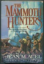 Jean M AUEL / The Mammoth Hunters Signed 1st Edition 1985