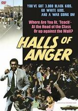 HALLS OF ANGER --- Blaxplotation 70'S BLACK CLASSICS NEW DVD