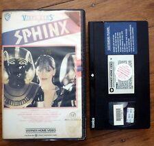 SPHINX Rare OOP 1987 Warner Home Video PAL VHS Clamshell Lesley-Anne Down