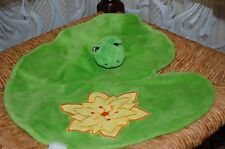 Egmont Belgium Toys Frog On Water Lily Green Baby Security Blanket New in Bag