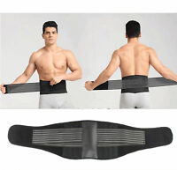 Back Support Brace Belt Lumbar Lower Waist Magnetic Pain Relief Adjust Trimmer