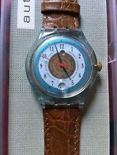 Uhr Original SWATCH Automatic MIDSOMMAR SOL (SAG401)-NEU/NOS/NEU! Mit Datum!