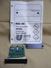NEW University Sound RVC-100 Remote Volume Control Accessory Card module