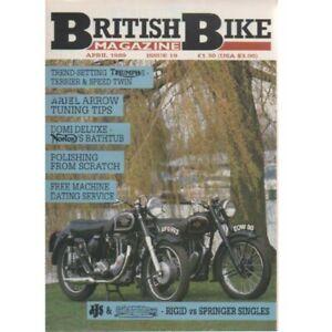 British Bike Magazine April 1989 (026) NORTON ARIEL TRIUMPH