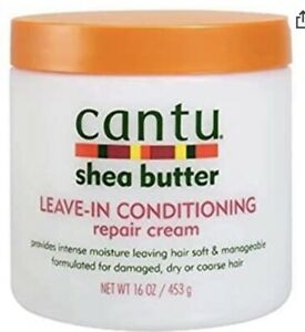 Cantu Shea Butter 453 ml Crème Réparatrice pour les Cheveux