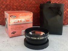Digital Visions 2x Telephoto Lens - 52mm Thread - Black