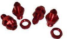Pro Braking PBF1166-ORA-RED Front Braided Brake Line Orange Hose /& Stainless Red Banjos
