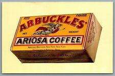 Postcard Arbuckles Ariosa Coffee Arbuckle Brothers New York Advertisement
