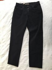 PANTALON JEANS NOIR NEUF TEDDY SMITH COTON T 42 44 L BLACK PANTS