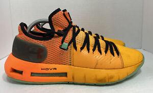 UA Under Armour Hovr Havoc Low Orange Halloween 3020618-602 Size 8.5