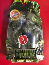 "The Incredible Hulk 6"" Gray Hulk Video Game NEW"