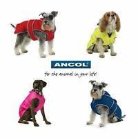 Ancol Muddy Paws Dog Coats Stormguard Fleece Waterproof Reflective HiVis