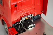 Cabin Holder V2 for Tamiya 1/14 truck or other SCALE-PARTS full metal INOX cab