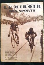Miroir des Sports 1/09/1931; Falk Hansen champion du monde devant Michard
