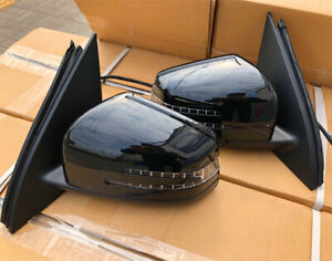 W166 Rear View Wing Mirror Set for Mercedes Benz M Class ML350 ML450