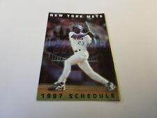 New York Mets 1997 MLB Baseball Pocket Schedule - Finlay Sports