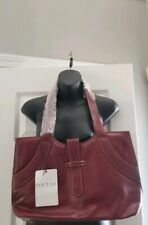 Heritage Travelware, LTD. handbag tote bag red  burgundy messenger travel large