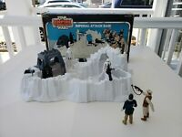 Vintage Star Wars Imperial Attack Base Hoth w Box, Insert & Figures 1980 Kenner